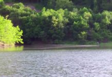 Krajkovačko jezero; Printscreen YouTube