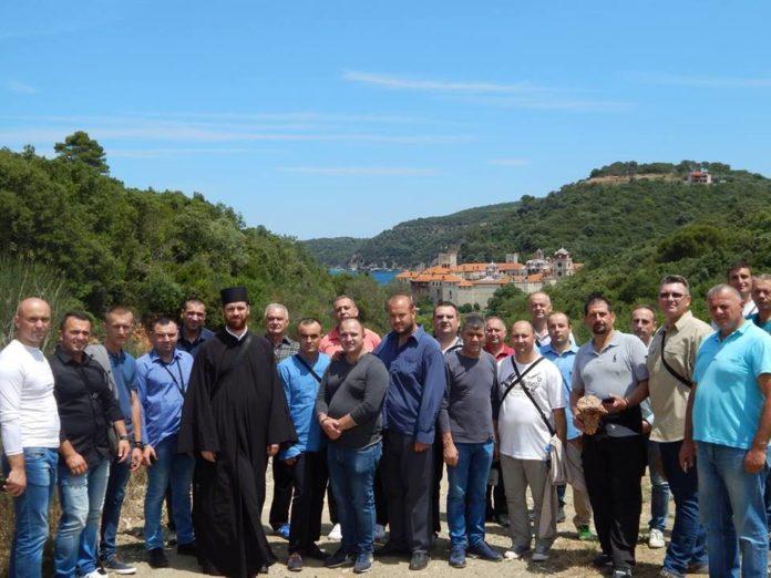 Pokloničko putovanje; Foto: Eparhija niška, vojni sveštenik Ivan Ganić