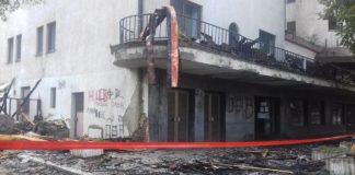Dan posle požara; Foto: Niška Banja FB Printscreen
