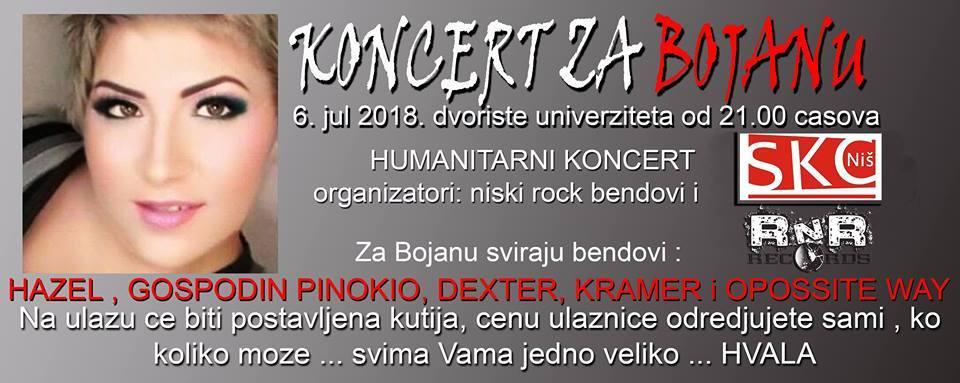 Humanitarni koncert za Bojanu