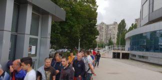 Redovi ispred Čaira, Radnički će imati dobru podršku; Foto: FK Radnički