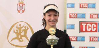 Lola Radivojević šampionka Srbije