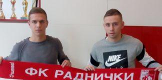 Pojacanje, FK Radnicki