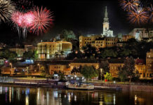 Doček Nove 2019. u Beogradu