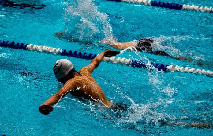 Novogodisnji kup, plivanje
