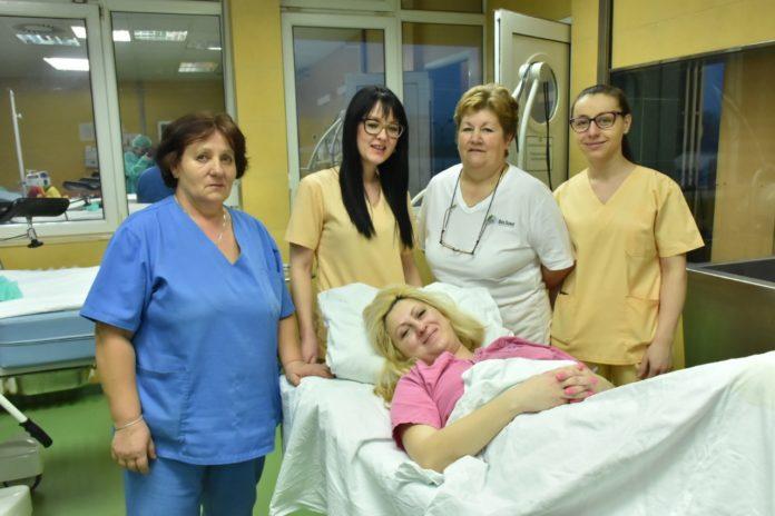 Prva beba u 2019. godini Foto: Vladan Damjanović