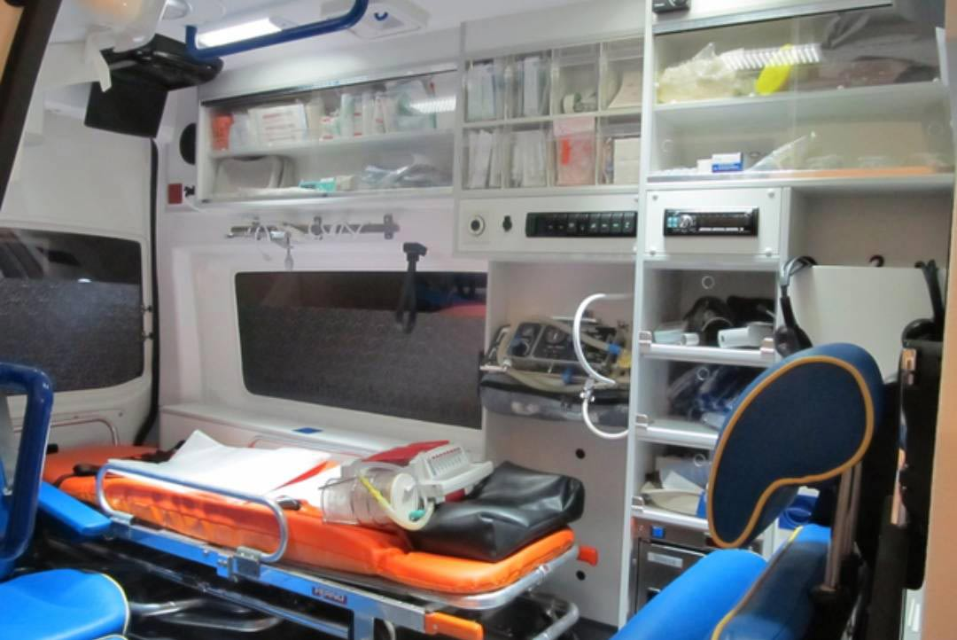 Sanitetska vozila su u službi prevoza pacijenta