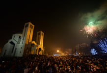Prepun Svetosavski park na dočeku Pravoslavne nove godine