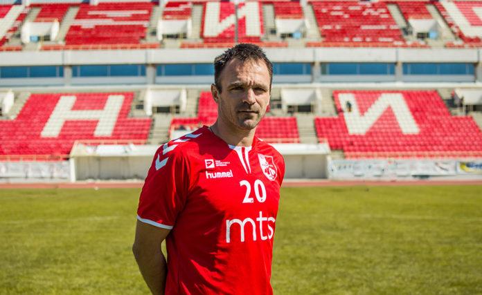 Nikola Drinčić FK Radnički Niš