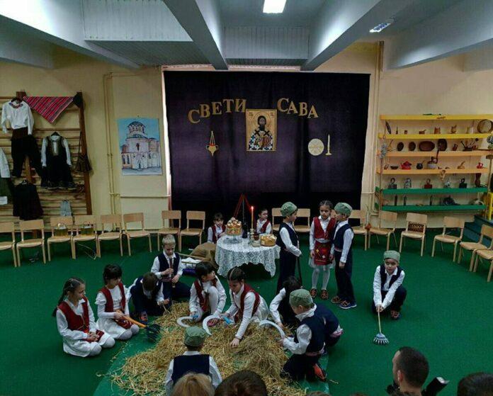 Slava Sveti Sava proslavljena je i u svih 26 vrtića JPU Pčelica Niš