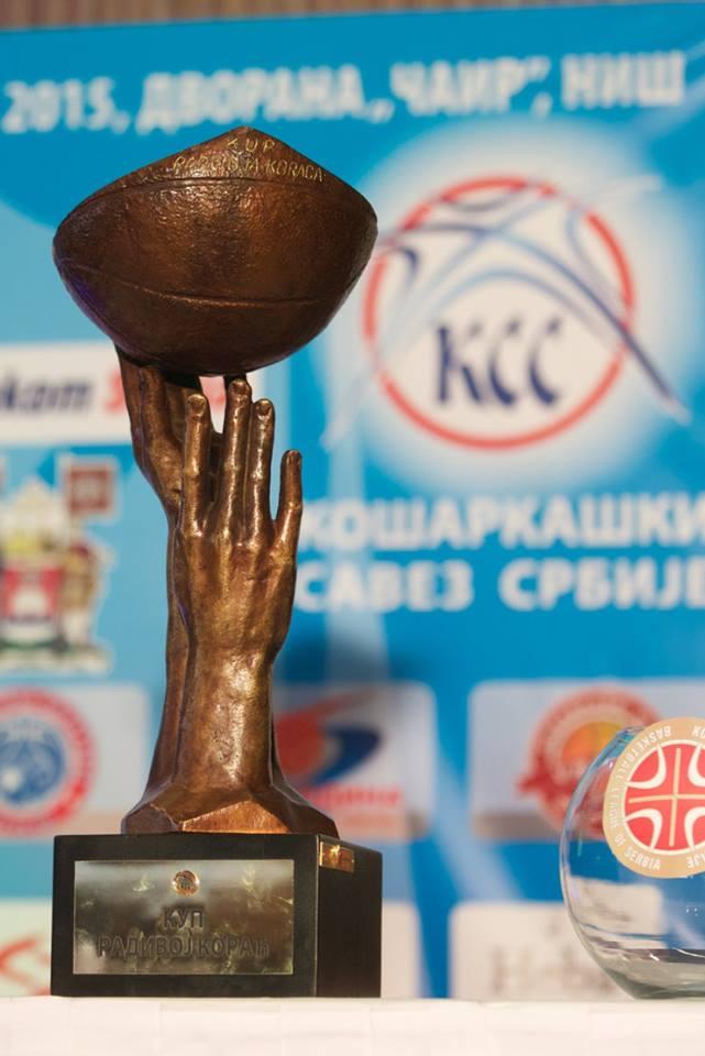 Prodaja karta za finalni turnir Kupa Radivoja Koraća