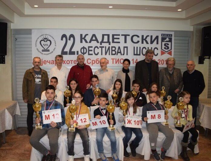 Šahovski Klub Osnovac blistao na takmičenju Centralne Srbije