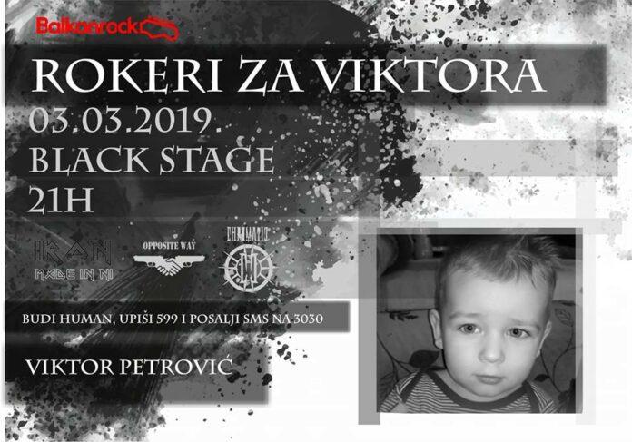 Humanitarni koncert za malog Viktora Petrovića