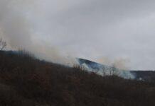 Na području između Ostrovice, Ravnog Dola i sela Crnče juče oko 15 časova izbio je veliki požar. Vatra je zahvatila više od 20 hektara livada, vinograda i šuma.