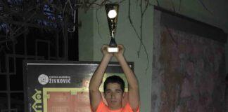 Luka Stefanović osvojio Kup Srbije za tenisere do 18 godina