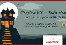 Cineplexx Niš Kuća straha