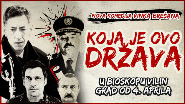 Bioskop Vilin Grad: Repertoar od 4. do 10. aprila