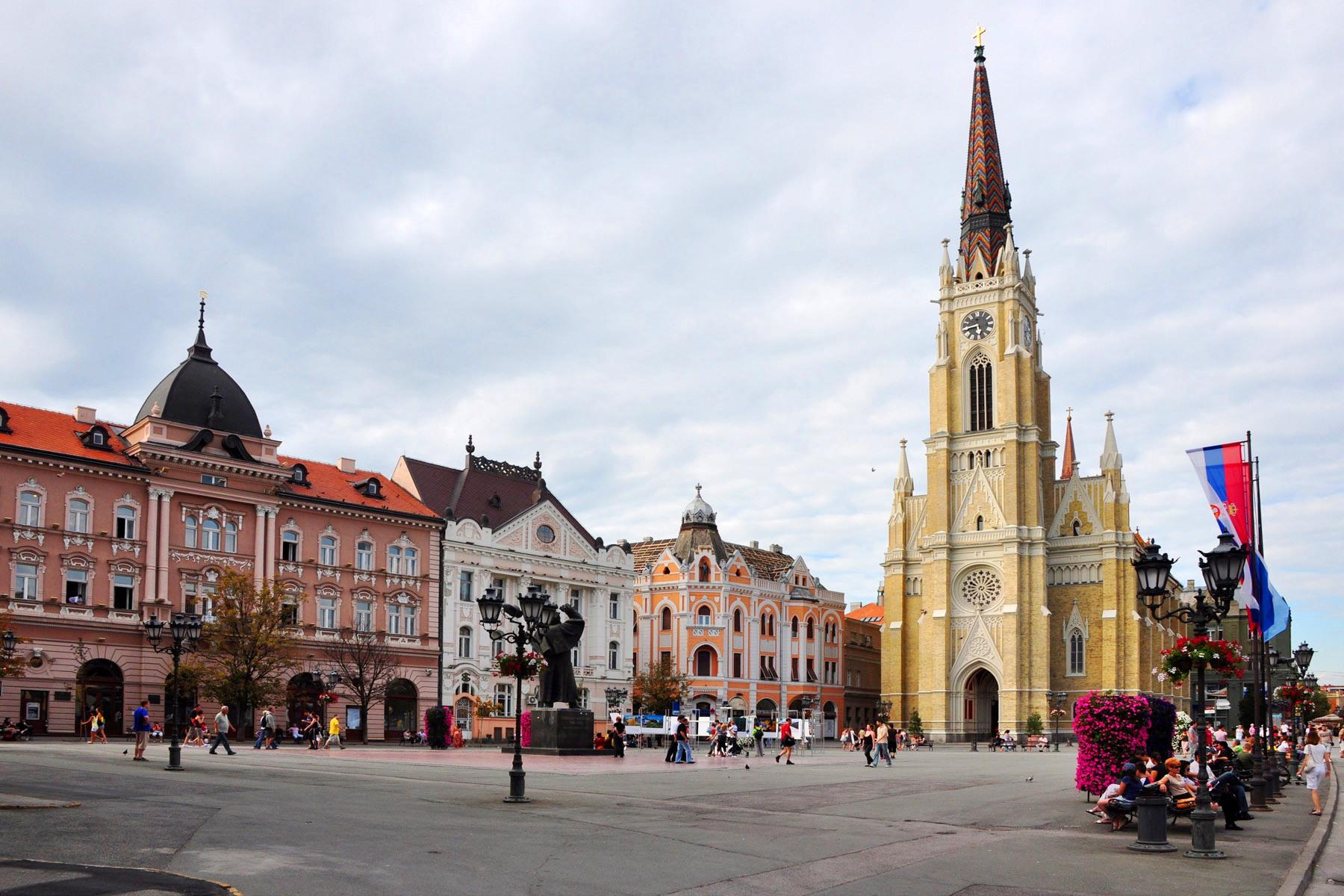 Novi Sad-Trg Slobode