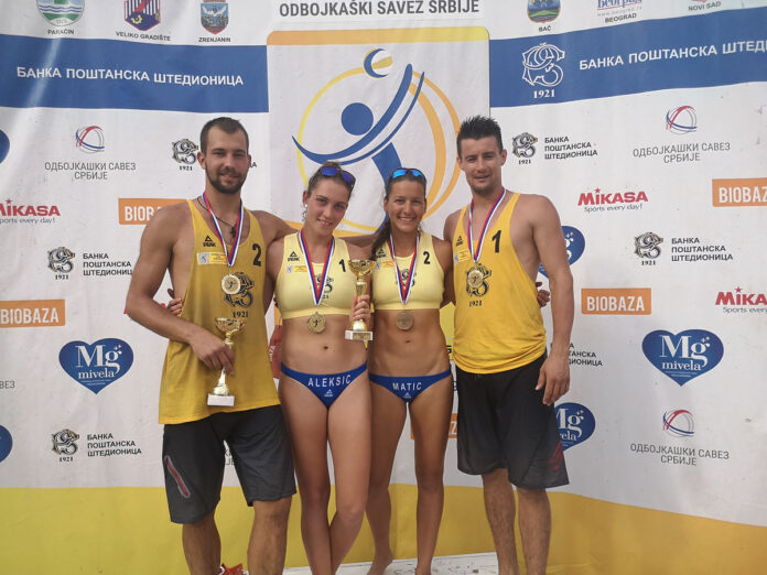 Beach-volley liga 2019: Niški odbojkaš pobednik turnira u Loznici
