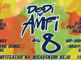 "Festival hip hop kulture ""Dodji na Amfi – Vol.8"""