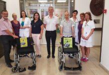 """Invalidska kolica za ORL Kliniku od akcije """"Čepening"""""""
