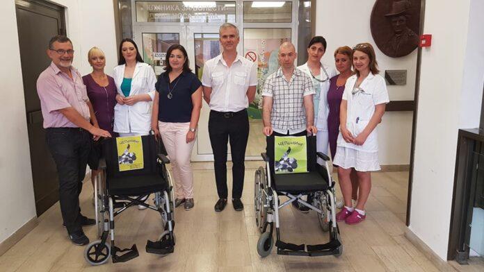 Invalidska kolica za ORL Kliniku od akcije