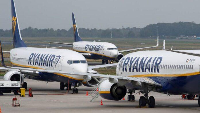 kompanija Ryanair