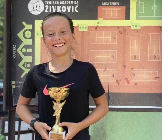 Anastasija Cvetković i Nikola Jović startovali sa titulama