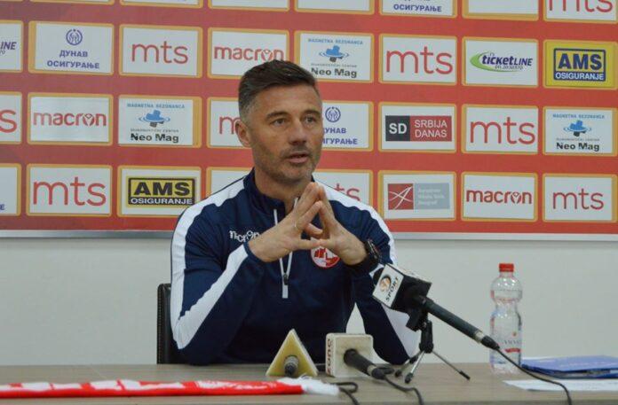 Trener FK Radničkog Radoslav Batak
