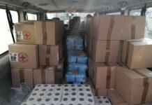 Paketi pomoći najugroženijim Nišlijama. foto: FB Crveni krst Niš