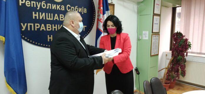Petar Babović je nNovi načelnik Nišavskog upravnog okruga