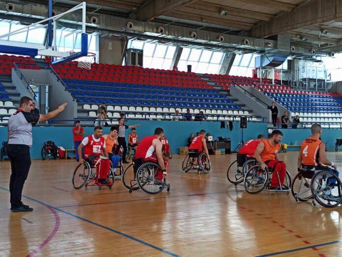 utakmica košarke u kolicima