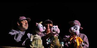 tri praseta u pozorištu lutaka