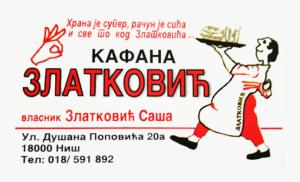 Kafana Zlatkovic