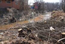 čišćenje korita kutinske reke