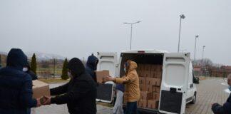 Grad Niš je opštini Bela Palanka donirao pakete