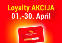 Loyalty AKCIJA pekare Branković 01.-30. April