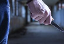 izboden nožem