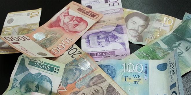 isplata 3.000 dinara
