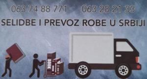 Selidbe i prevoz robe u Srbiji i inostranstvu